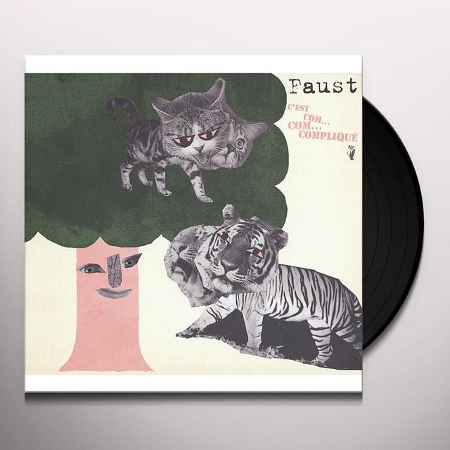 Faust C'EST COM COM COMPLIQUE Vinyl Record