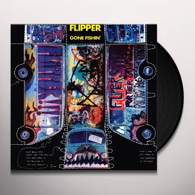 Flipper GONE FISHIN Vinyl Record - 180 Gram Pressing