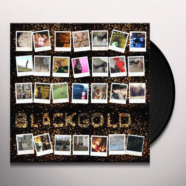 Black Gold RUSH Vinyl Record