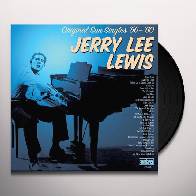 Jerry Lee Lewis ORIGINAL SUN SINGLES 56-60 Vinyl Record