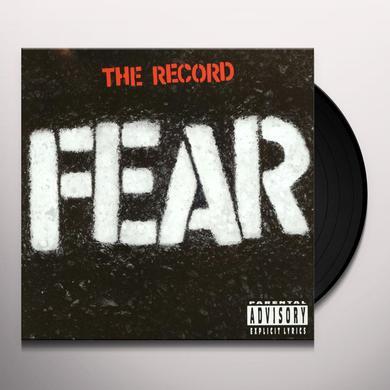 Fear RECORD Vinyl Record