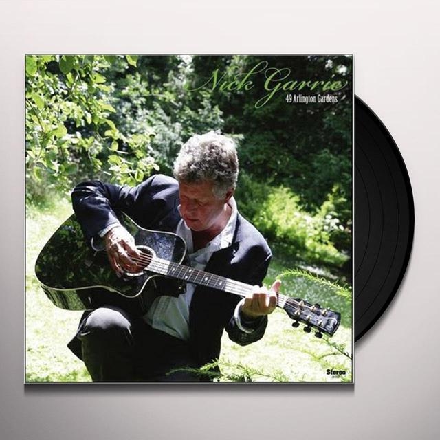 Nick Garrie 49 ARLINGTON GARDENS Vinyl Record