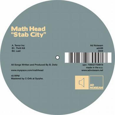 Math Head STAB CITY Vinyl Record