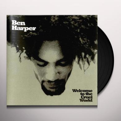 Ben Harper WELCOME TO THE CRUEL WORLD Vinyl Record - Bonus Vinyl, Limited Edition, 180 Gram Pressing