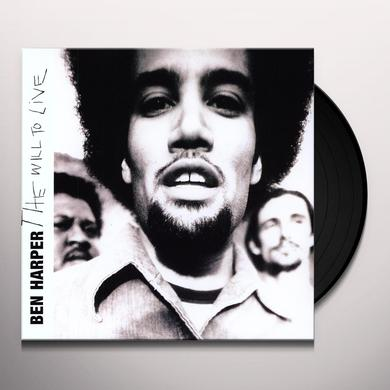 Ben Harper WILL TO LIVE Vinyl Record