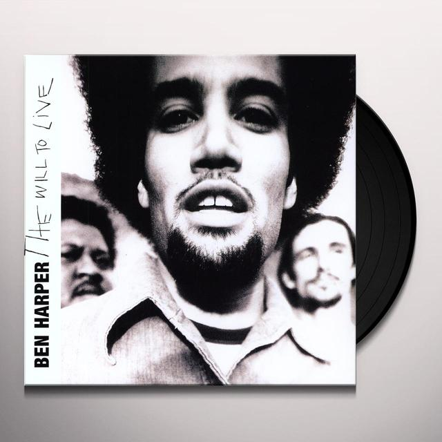 Ben Harper WILL TO LIVE Vinyl Record - Limited Edition, 180 Gram Pressing