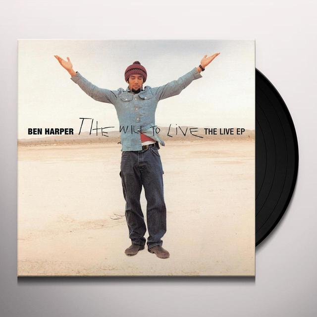 Ben Harper WILL TO LIVE - LIVE EP Vinyl Record