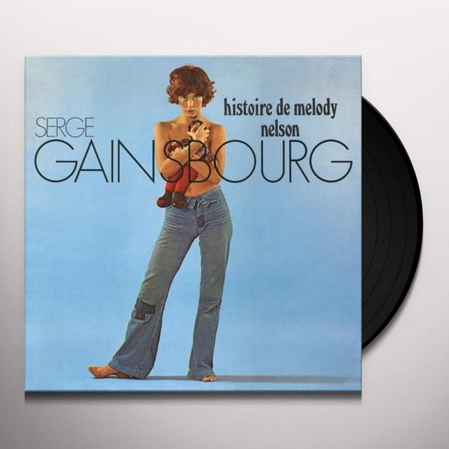 Serge Gainsbourg HISTOIRE DE MELODY NELSON Vinyl Record - Limited Edition, 180 Gram Pressing