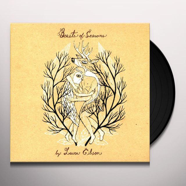 Laura Gibson BEATS OF SEASONS Vinyl Record