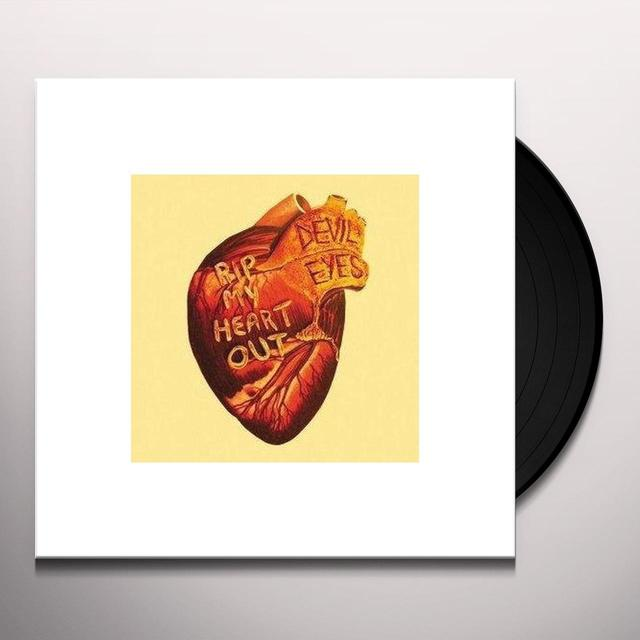 Devil Eyes RIP MY HEART OUT Vinyl Record - Limited Edition