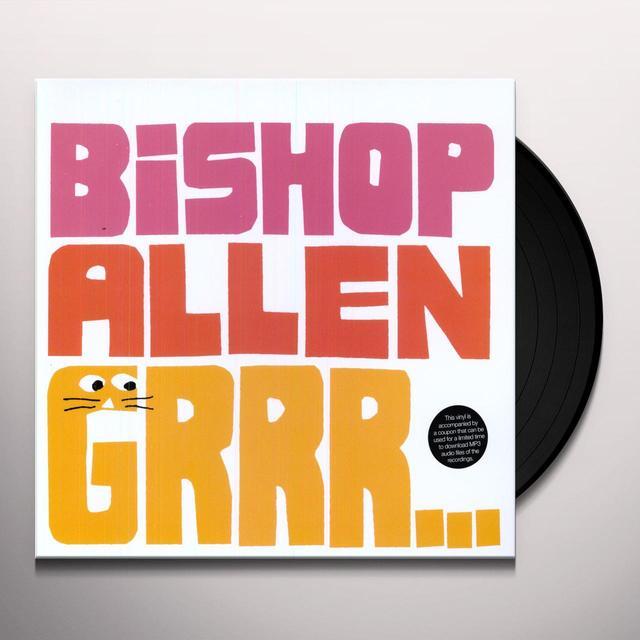 Bishop Allen GRRR Vinyl Record