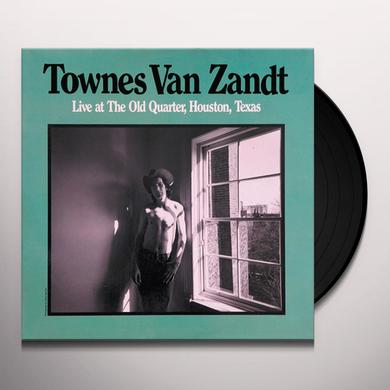 Townes Van Zandt LIVE AT THE OLD QUARTER Vinyl Record