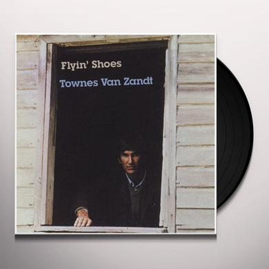 Townes Van Zandt FLYIN SHOES Vinyl Record - 180 Gram Pressing