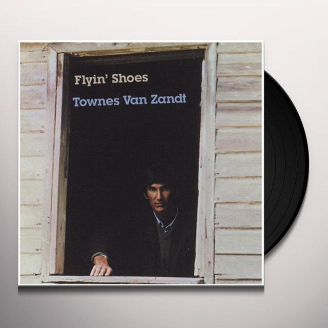 Townes Van Zandt FLYIN SHOES Vinyl Record - 180 Gram Pressing