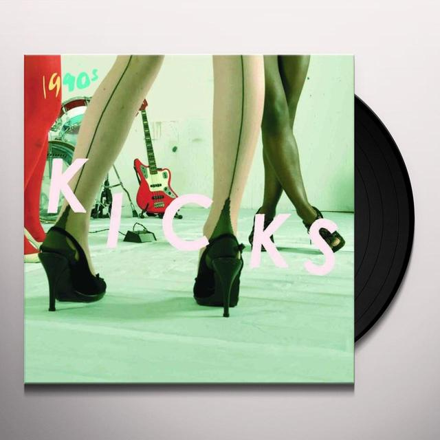 1990's KICKS Vinyl Record