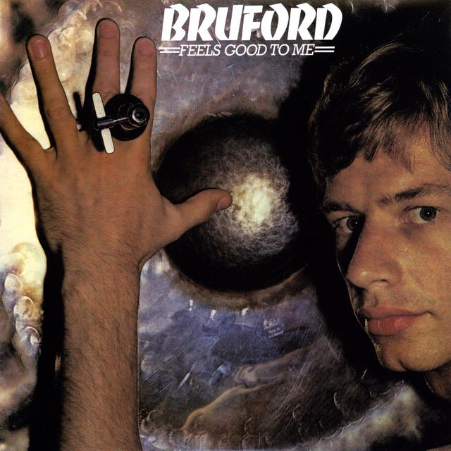 Bill Bruford FEELS GOOD TO ME Vinyl Record