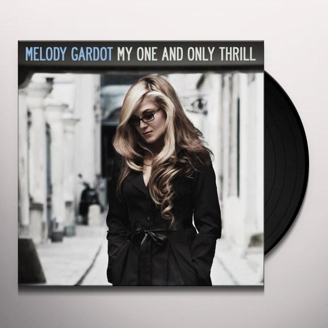 Melody Gardot MY ONE & ONLY THRILL Vinyl Record