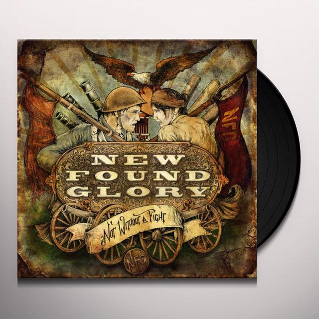 New Found Glory NOT WITHOUT A FIGHT Vinyl Record