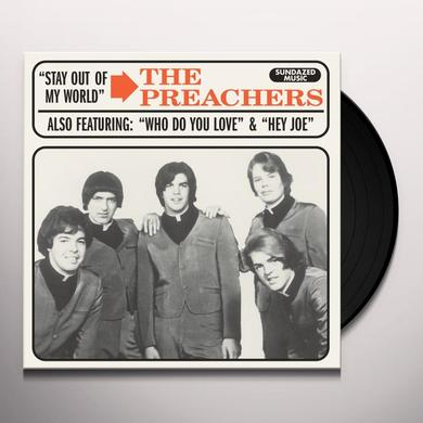Preachers STAY OUT OF MY WORLD / HEY JOE Vinyl Record