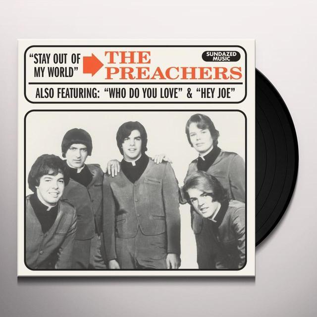 Preachers STAY OUT OF MY WORLD / HEY JOE Vinyl Record