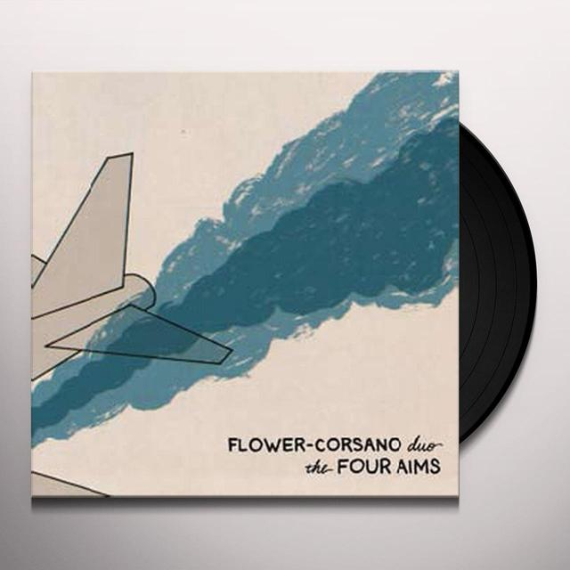 Flower Corsano Duo FOUR AIMS Vinyl Record