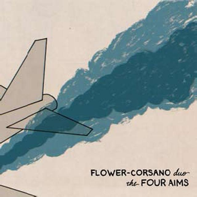 Flower Corsano Duo FOUR AIMS Vinyl Record