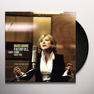 Marianne Faithfull EASY COME EASY GO Vinyl Record