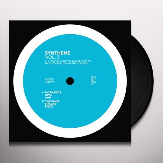 Syntheme VOLUME 3 Vinyl Record