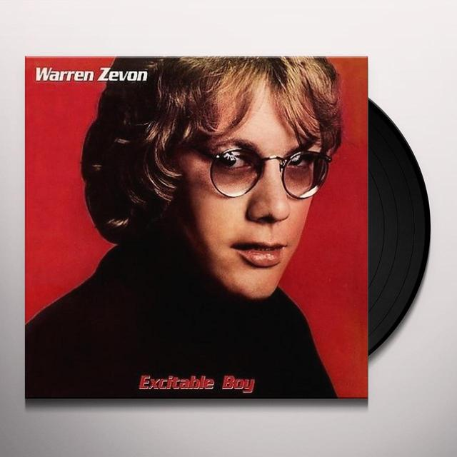 Warren Zevon EXCITABLE BOY Vinyl Record - 180 Gram Pressing