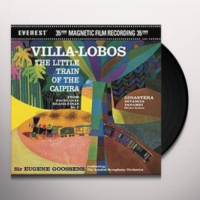 Eugene Goossens VILLA LOBOS: LITTLE TRAIN OF CAIPIRA Vinyl Record