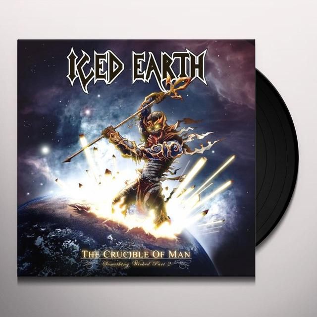 Iced Earth CRUCIBLE OF MAN: SOMETHING WICKED 2 Vinyl Record
