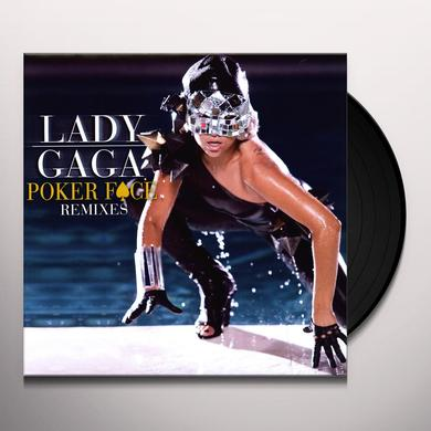 Lady Gaga POKER FACE REMIXES (X5) Vinyl Record - Remixes