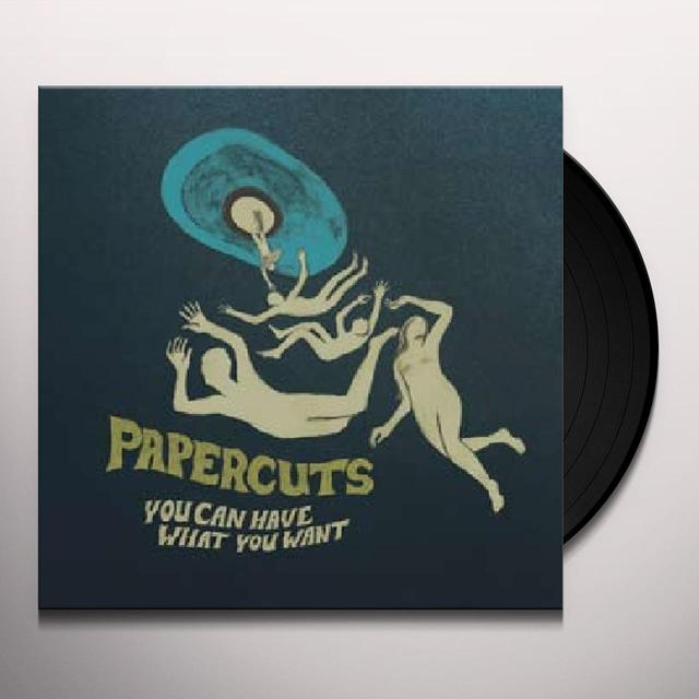 Papercuts YOU CAN HAVE WHAT YOU WANT Vinyl Record - w/CD