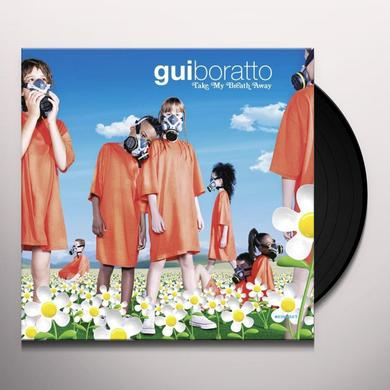 Gui Boratto TAKE MY BREATH AWAY Vinyl Record - w/CD
