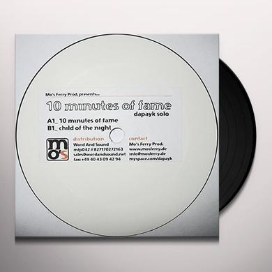Dapayk Solo 10 MINUTES OF FAME (EP) Vinyl Record