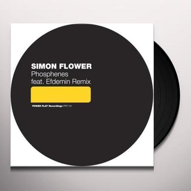 Simon Flower PHOSPHENES (EP) Vinyl Record