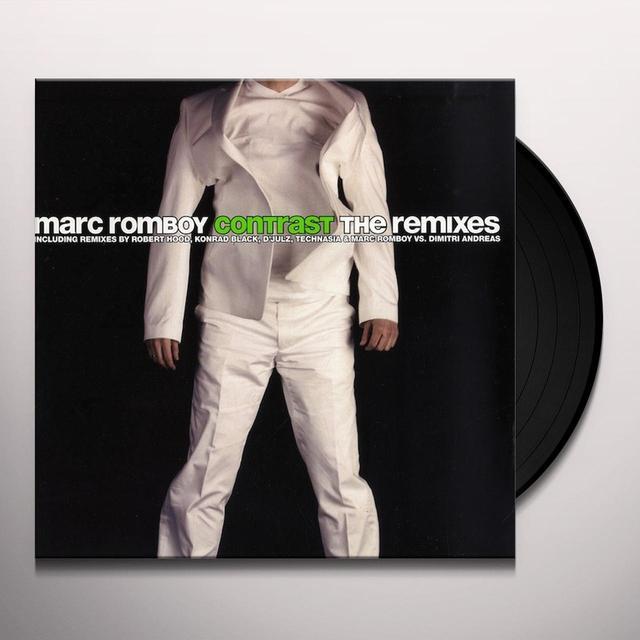 Marc Romboy CONTRAST: THE REMIXES Vinyl Record
