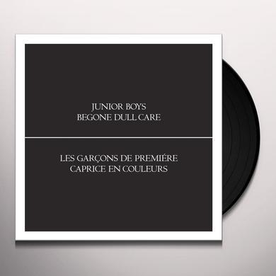 Junior Boys BEGONE DULL CARE Vinyl Record
