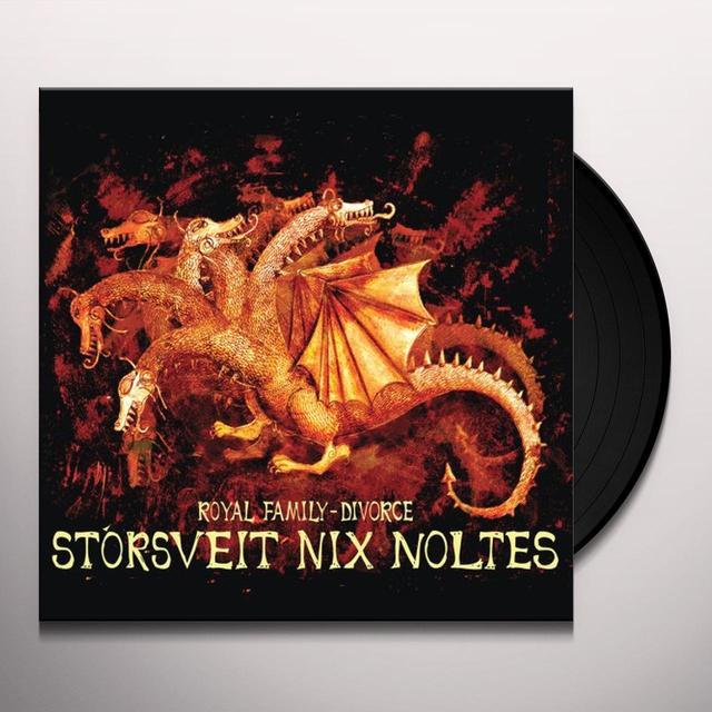 Storsveit Nix Noltes ROYAL FAMILY: DIVORCE (Vinyl)
