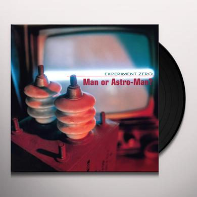 Man Or Astro-Man EXPERIMENT ZERO Vinyl Record