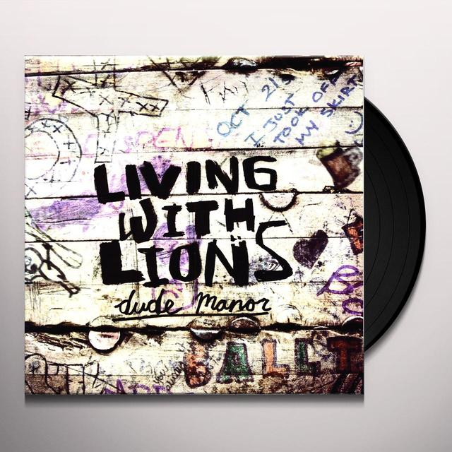 Living With Lions DUDE MANOR (EP) Vinyl Record