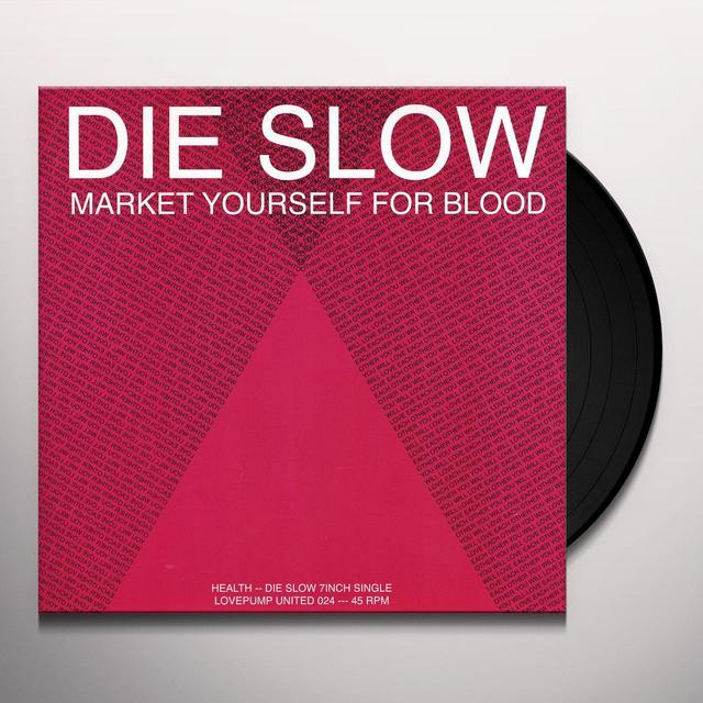 HEALTH DIE SLOW / PICTUREPLANE RMX Vinyl Record