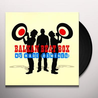 Balkan Beat Box NU MADE REMIXES Vinyl Record - Remixes