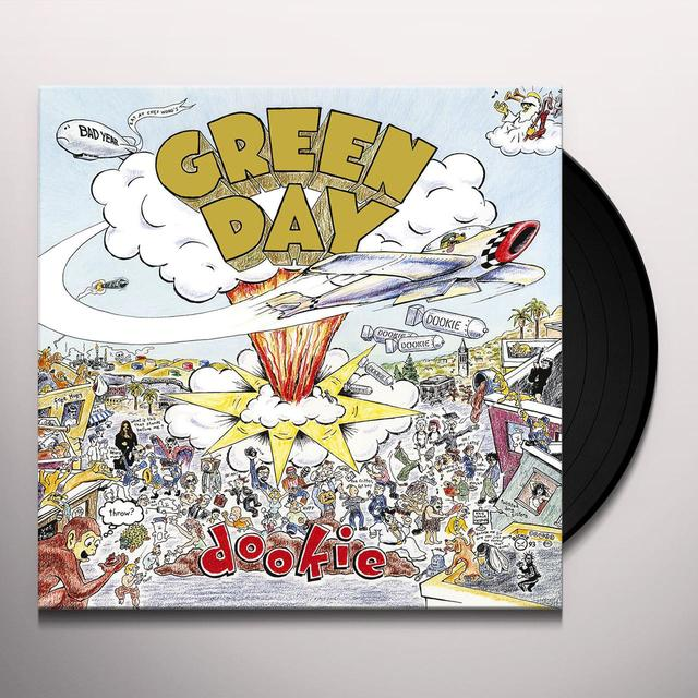 Green Day DOOKIE Vinyl Record - 180 Gram Pressing