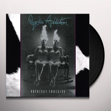 Jane's Addiction NOTHING'S SHOCKING Vinyl Record - 180 Gram Pressing