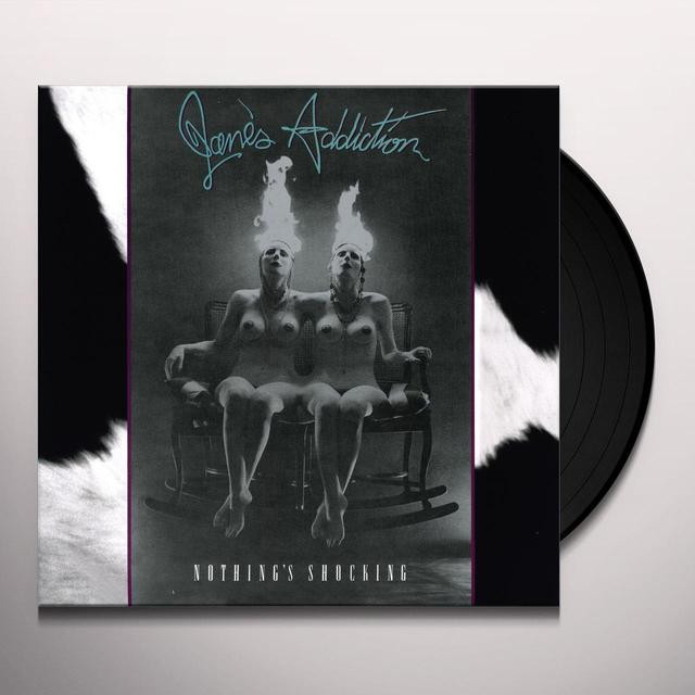 Jane's Addiction NOTHING'S SHOCKING Vinyl Record - 180 Gram Pressing