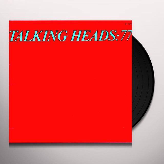 TALKING HEADS: 77 Vinyl Record - 180 Gram Pressing