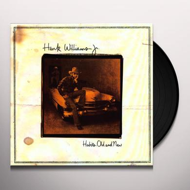 Hank Williams, Jr. HABITS OLD & NEW Vinyl Record