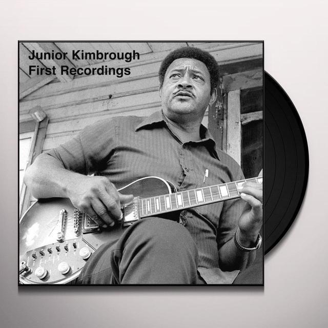 Junior Kinbrough FIRST RECORDINGS Vinyl Record