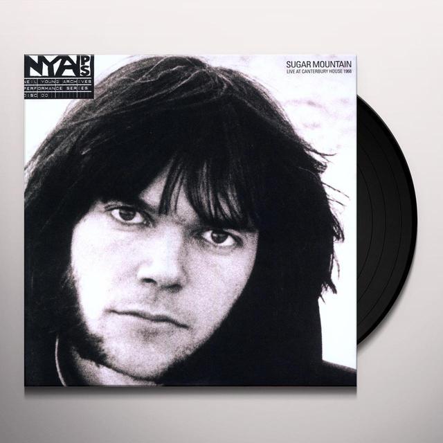 Neil Young SUGAR MOUNTAIN: LIVE AT CANTERBURY HOUSE Vinyl Record - 180 Gram Pressing